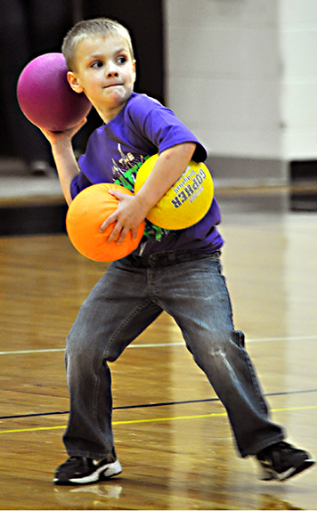 Dodge Ball Fun Games For Kids